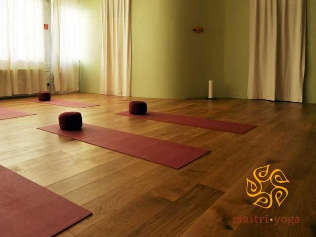Großer Yogaraum- Maitri Yoga Studio
