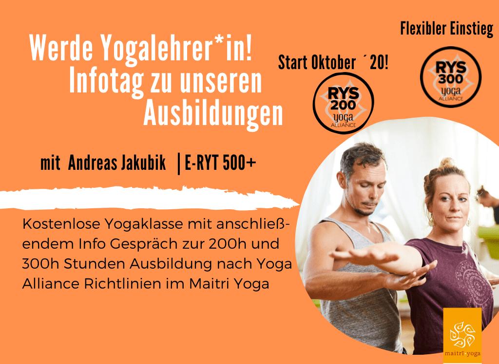 Infoworkshop Yogalehrer*in Ausbildung im Maitri