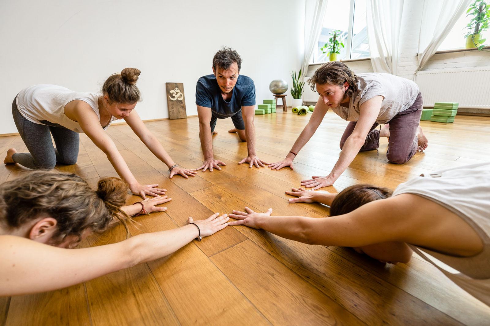 Yoga Session Maitri Yoga Studio