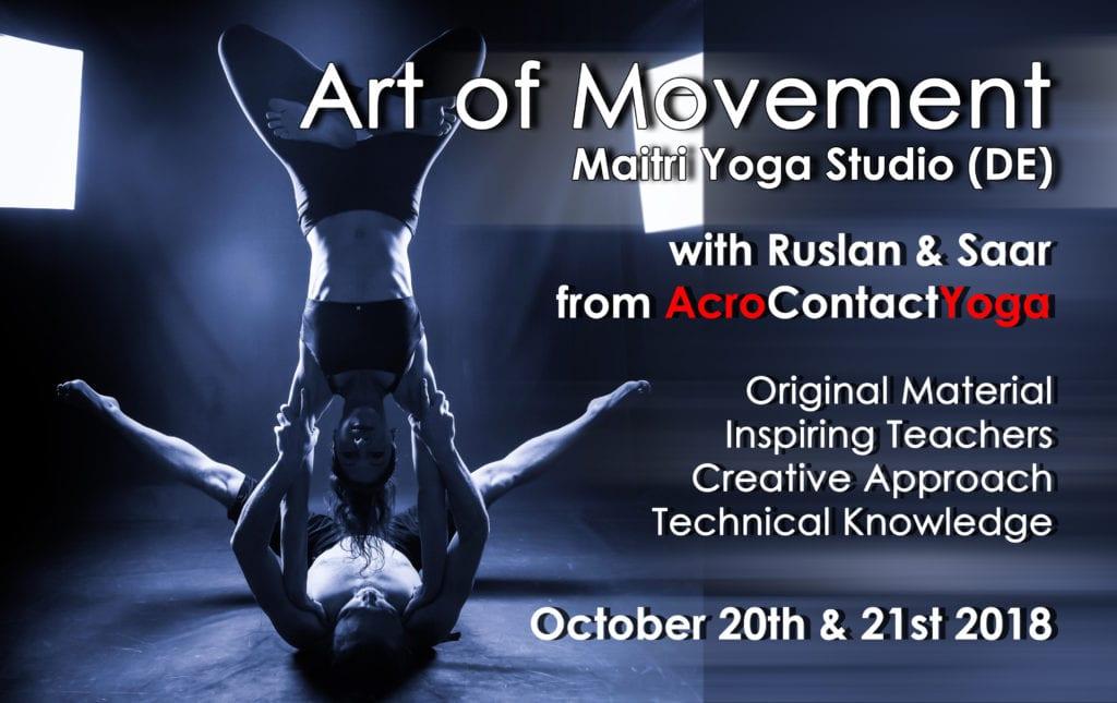 Art of Movement | AcroYoga Montreal mit Ruslan & Saar