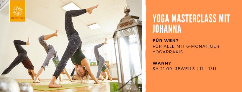 Yoga Masterclass | Für alle mit 6 monatiger Yogapraxis!