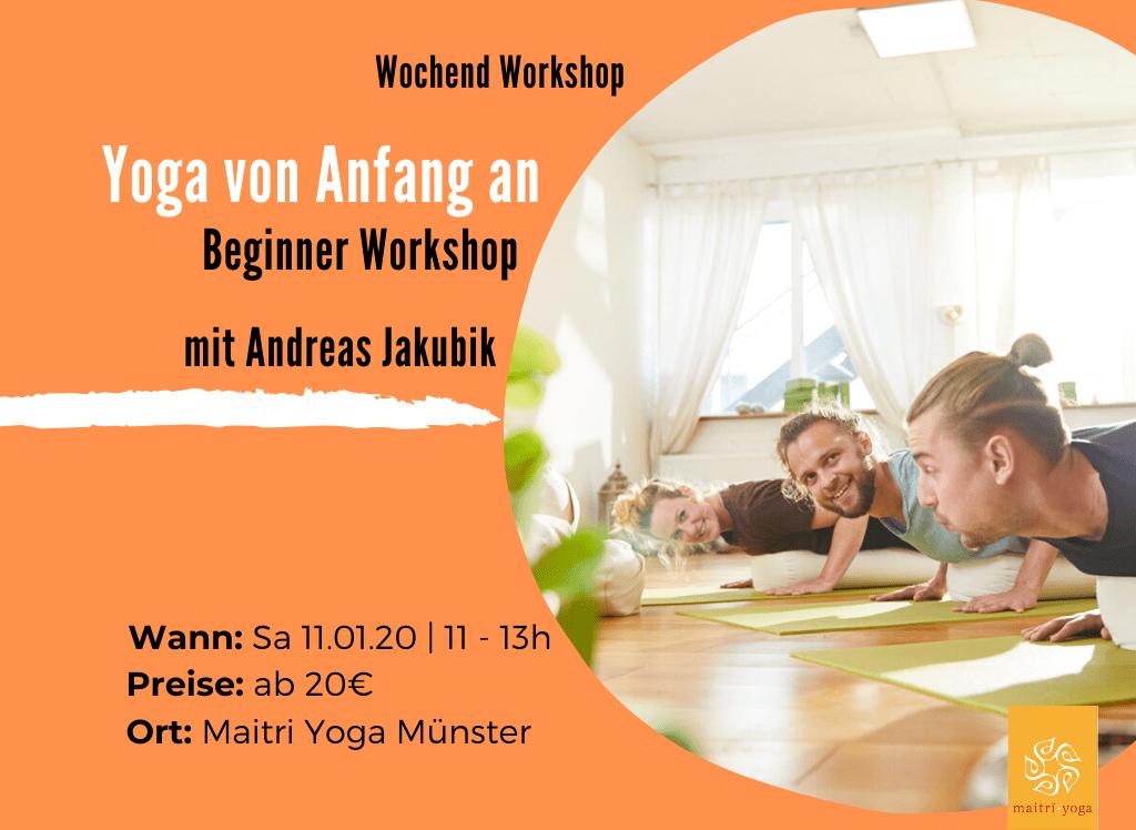 Yoga von Anfang an | Beginner Workshop