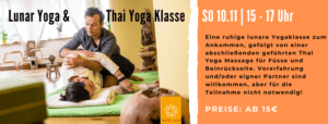 Lunar Yoga & Thai Yoga Massage Klasse