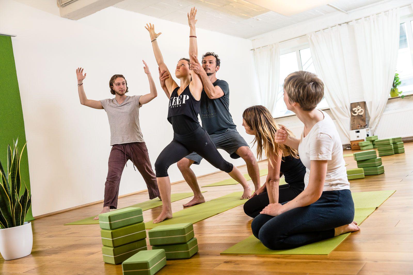 Yoga lernen im Maitri Yoga Studio in Münster