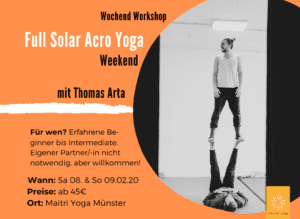 Solar AcroYoga Workshop mit Thomas Arta