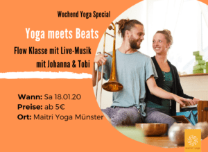 Yoga meets Beats | Yoga Flow Special mit Livemusik