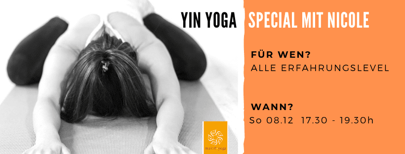 YinYoga Special mit Nicole | 120min