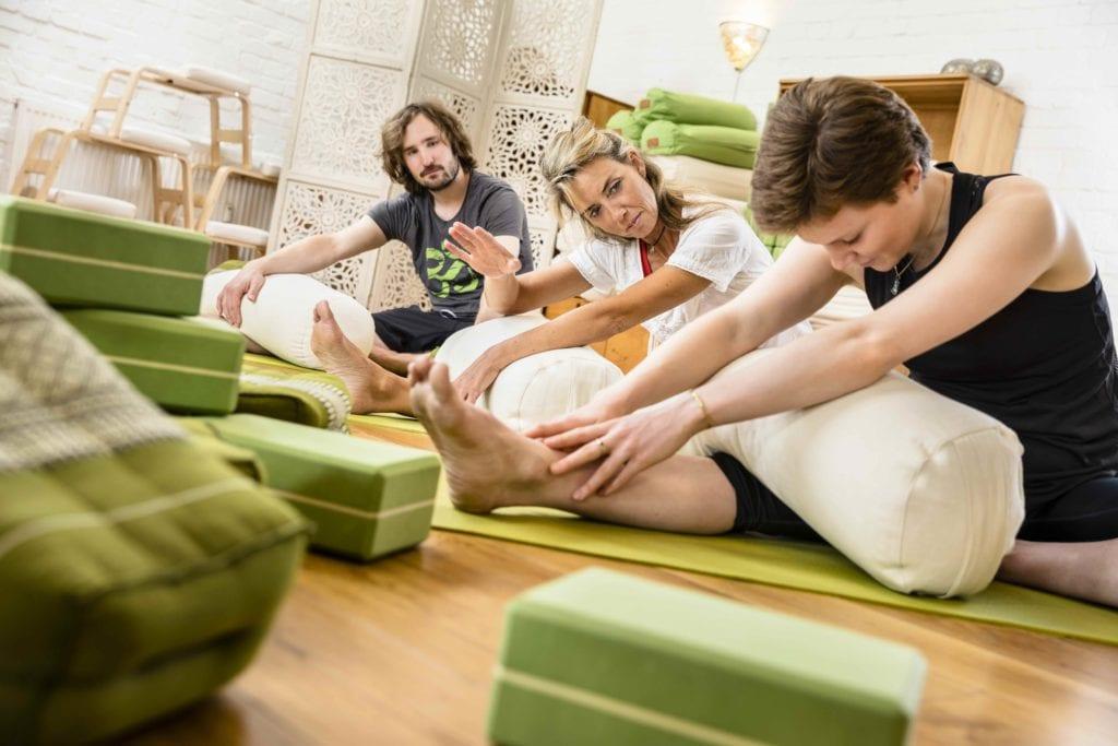 Detox mit Yang und Yin Yoga