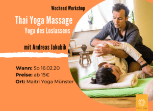 Thai Yoga Massage - Yoga des Loslassens