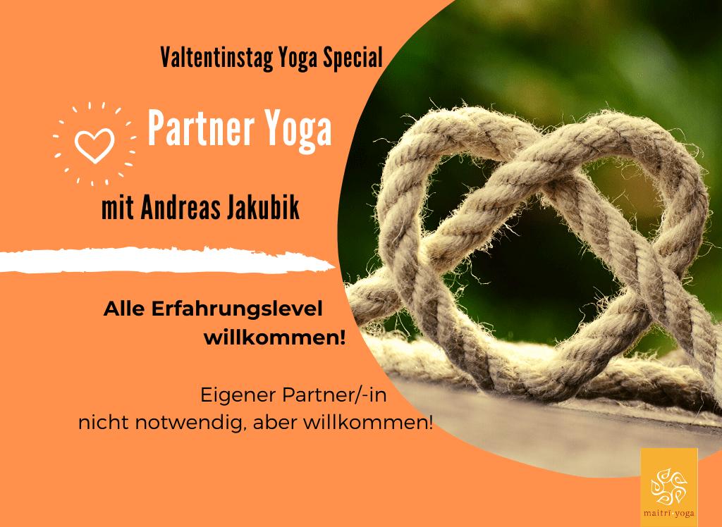 Valtentinstag Special | Partner Yoga