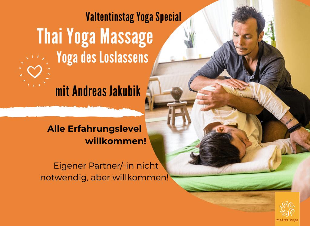 Valentinstag Special - Thai Yoga Massage