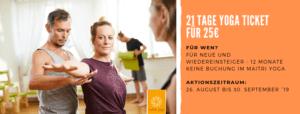 Yoga so oft du magst! | 21 Tage Yoga für 25€
