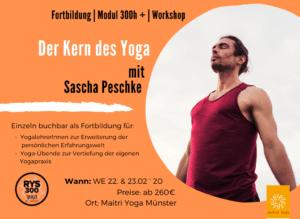 Der Kern des Yoga |  mit Sascha Peschke