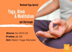 Yoga, Atem & Meditation