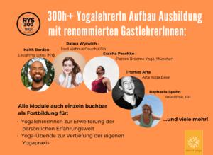 Jetzt neu: 300h + Yogalehrerin Aufbauausbildung, Fortbildungen & Workshops