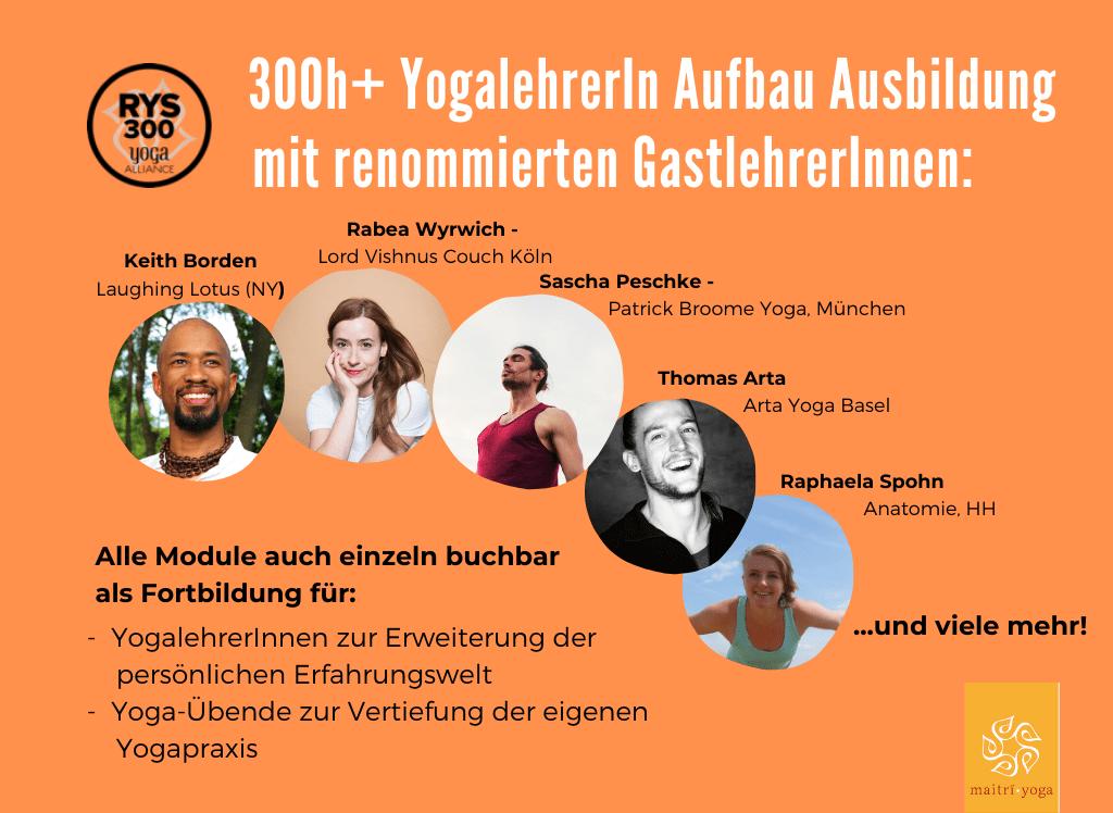 300h YogalehrerIn Aufbau Ausbildung