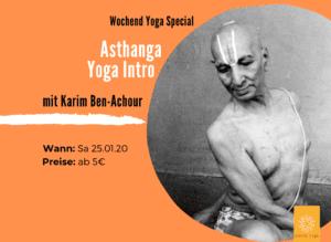 Asthanga Vinyasa Yoga Intro mit Karim