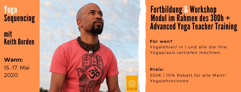 Yoga Sequencing mit Keith Borden
