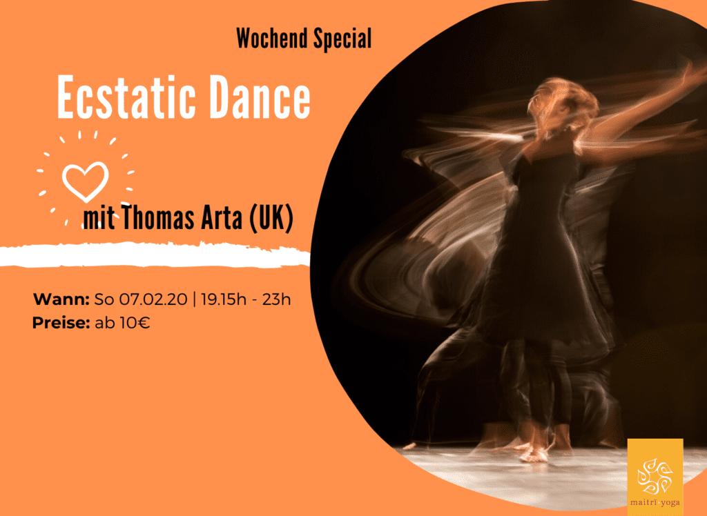 Ecstatic Dance | Barfuss Tanzen trifft Worldmusic