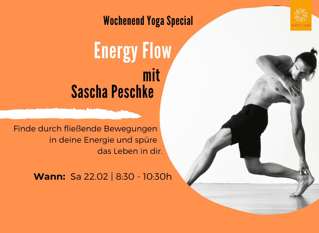 Energy Flow mit Sascha Peschke