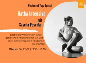 Hatha Intensiv mit Sascha Peschke   Patrick Broome Yoga München