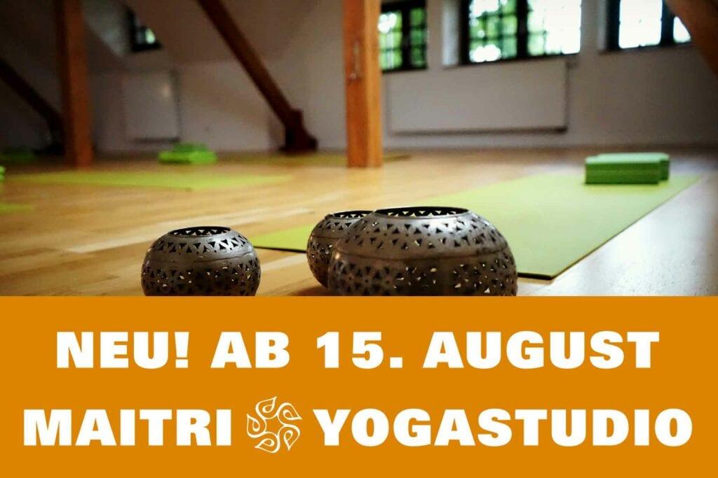 Neueröffnung am Kulturbahnhof in Hiltrup am WE 15. & 16. August mit kostenlosen Yogastunden für alle Level