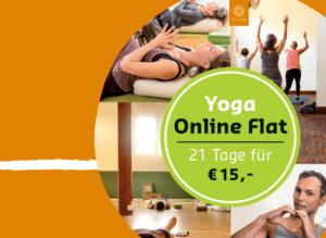 21 Tage Yoga Online Flat + Yoga Mediathek