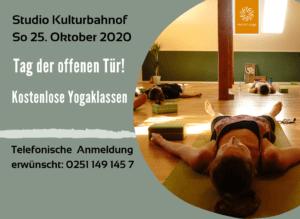 So 25. Oktober   Tag der offenen Tür Studio Kulturbahnhof