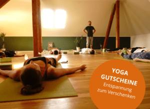 Entspannung zum Verschenken...Yoga Gutscheine